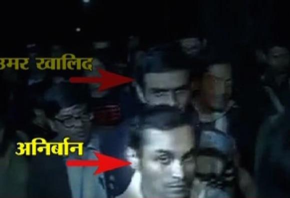 JNU Students Umar Khalid, Anirban Accused Of Sedition, Surrender