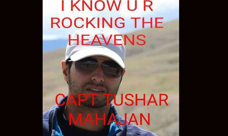 captain tushar's last whatsapp status is a sarcastic comment on everyone