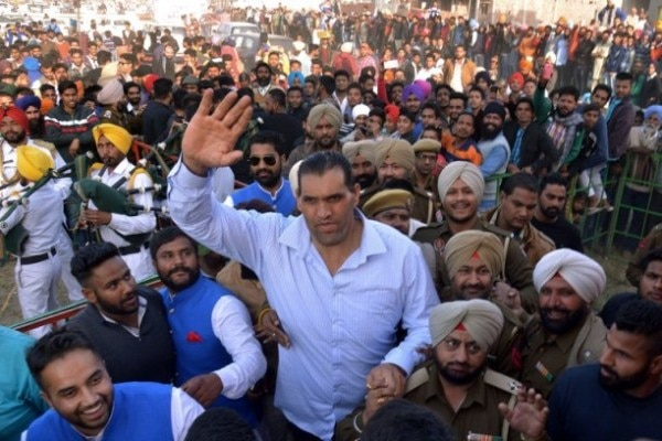 The Great Khali Show in India
