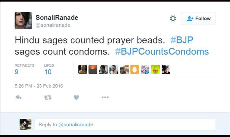 bjp mla gyandev trolled on twitter for 3000 condom statement with #BJPCountsCondoms