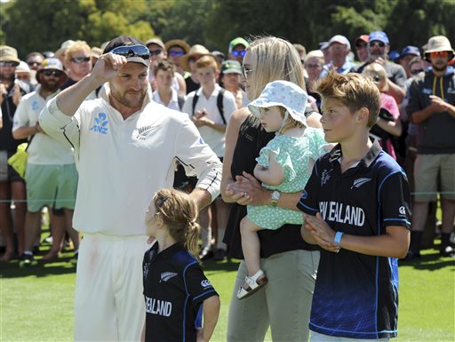 Time's right, says departing McCullum