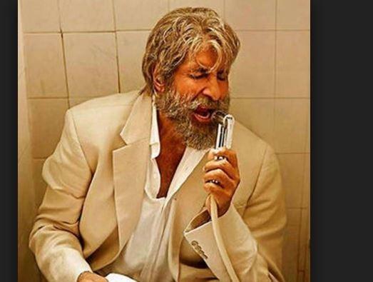 Amitabh Bachchan asked for 'selfie' in washroom