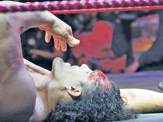 Ex-WWE wrestler Great Khali injured during sporting event