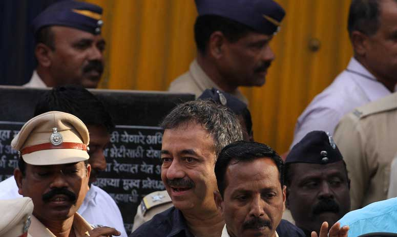 See pics: Sanjay Dutt released from Yerawada Central Jail