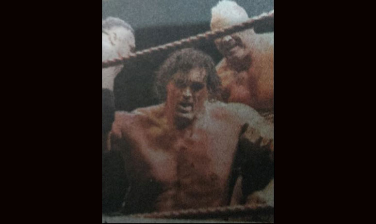 uttrakhand: during a fight, the great khali got injured badly, had seven stitches on the head