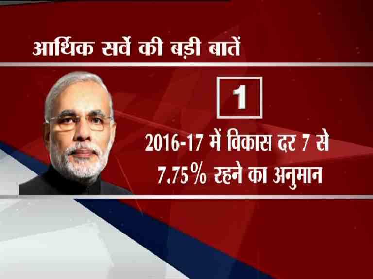 major points of the economic survey