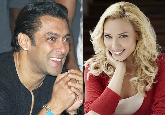 Photos: Lulia Vantur Kissing Salman Khan is not real!
