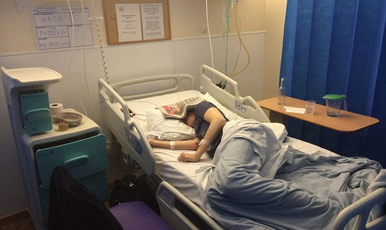 Katie Hopkins undergoes 12 HOURS of brain surgery