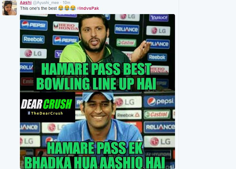 Jokes on Pakistani team