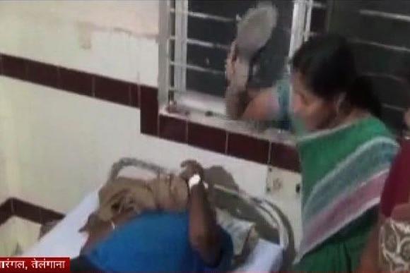 Telangana: rape alleges beaten by women in hospital