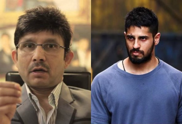 Sidharth Malhotra's locks horns with Kamaal R Khan on Twitter