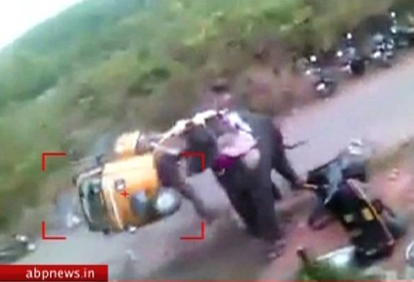 Elephant rampage in Kerala caught on camera