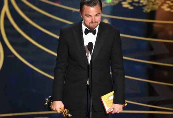 Leonardo DiCaprio is the 2016 Oscar Winner for Best Actor