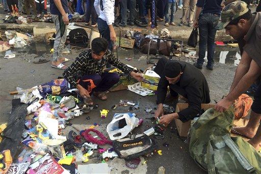 Iraq: atleast 59 killed in bomb blast