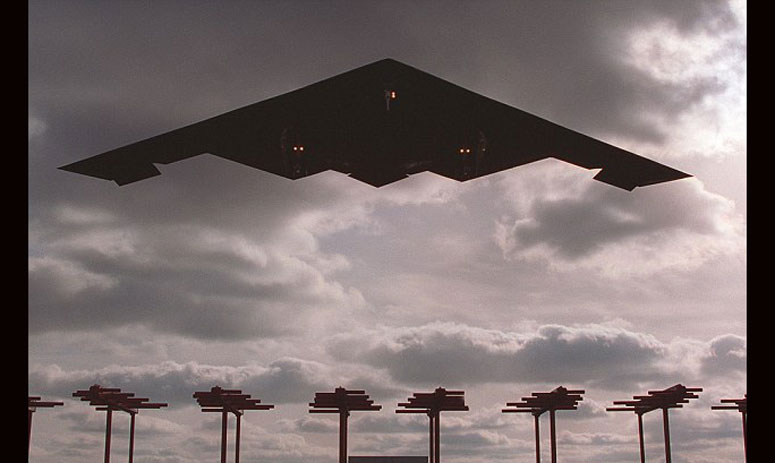 the US Air Force has unveiled the first image of its next generation bomber