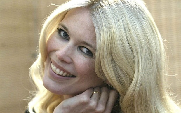 Claudia Schiffer plans her red carpet looks with photos