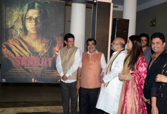 Aishwarya Rai Is Haunting On The First Poster Of Sarbjit