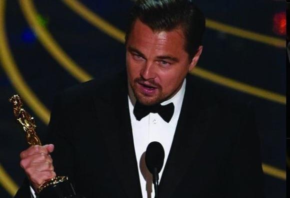 Oscar win for leonardo dicaprio