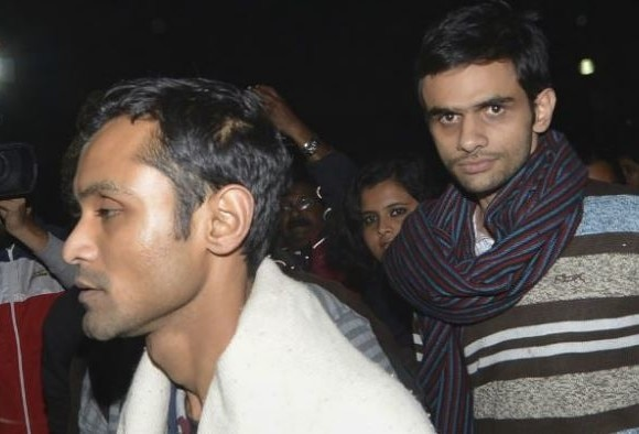 Umar Khalid, Anirban Bhattacharya sent to 14-day judicial custody