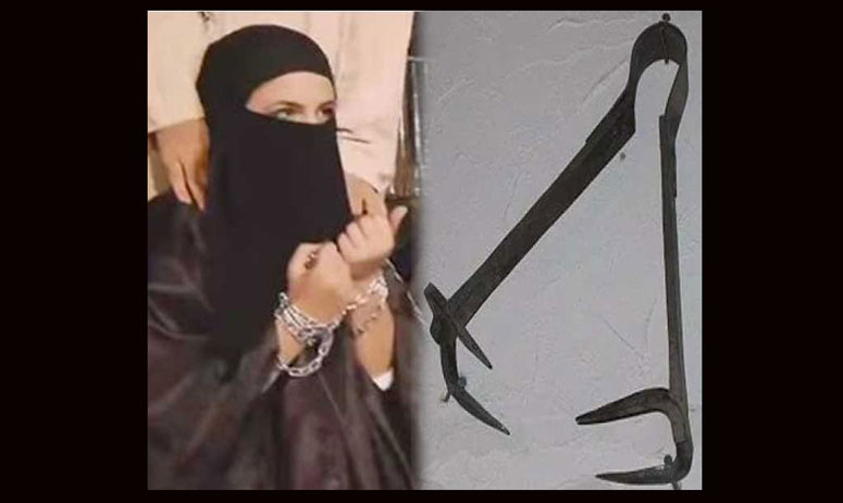 isis uses clippers to punish females, it causes more pain than pregnancy