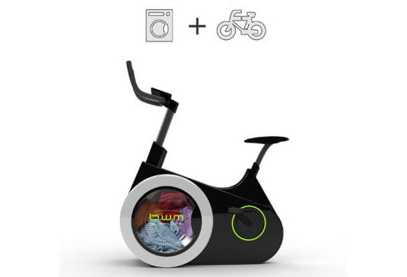 Unique New Bicycle-Powered Washing Machine Facilitates Weight Loss