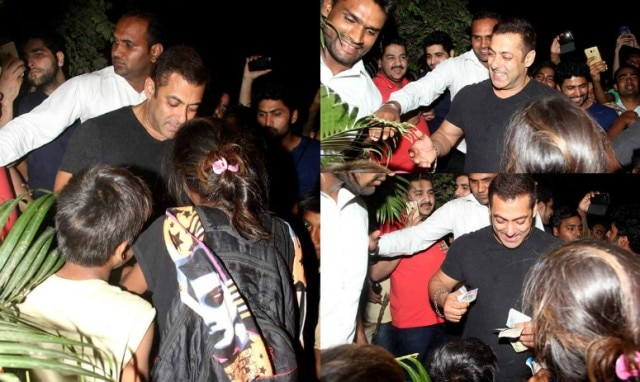 Salman borrows money from bodyguard to help poor kids