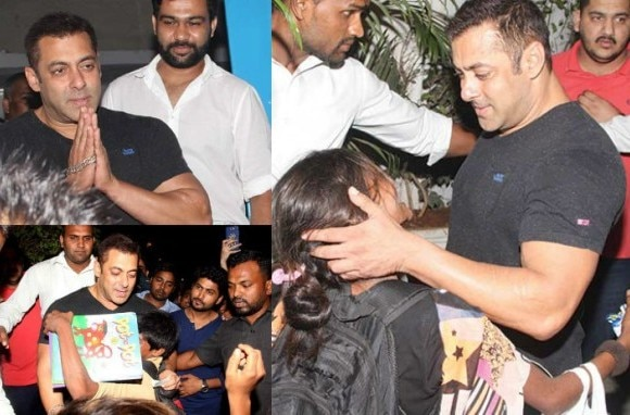 Salman Khan borrow money from his bodyguards for poor kids