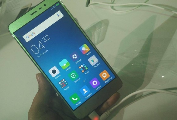hands on of xiaomi redmi note 3