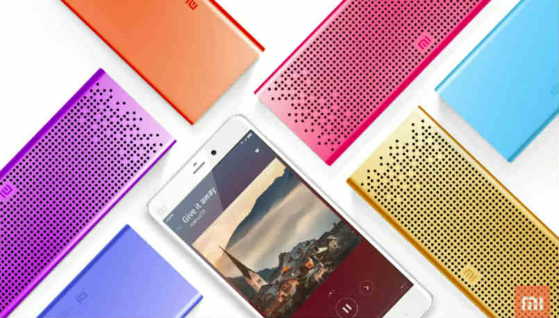 mi bluethooth speaker launch for 1,999 rs.