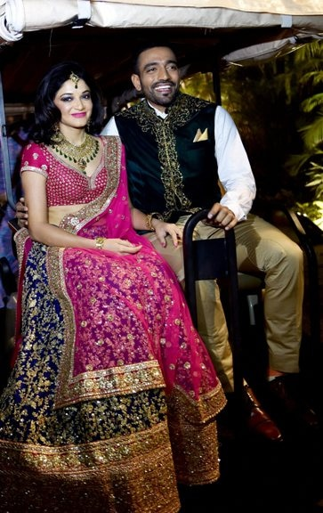 Indian cricketer Robin Uthappa gets married to tennis player Sheethal Goutham