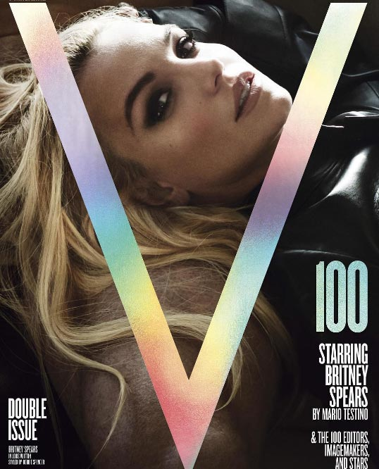 Britney Spears Looks Sexy as Ever in Steamy, New Photo Shoot for V Magazine