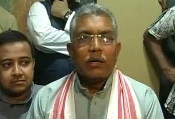 Will Chop 6 Inches If Anyone Says 'Pak Zindabad' : Dilip Ghosh