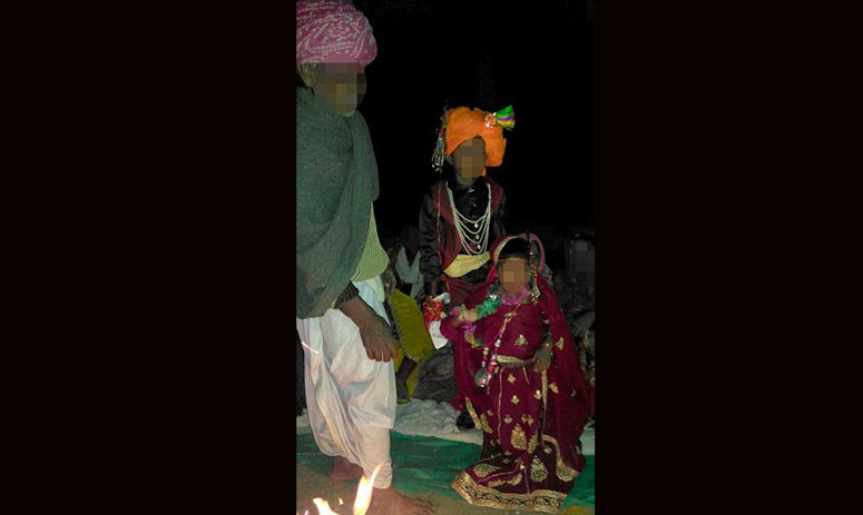 child marriages horror: kid aged just TWO among four young girls married off