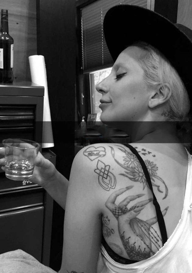 Lady Gaga's New Tattoo Is A Show Of Unity With Sexual Assault Survivors