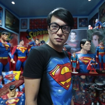 Herbert Chavez:  Superman fan has 26 surgeries to look like his favorite comic book hero