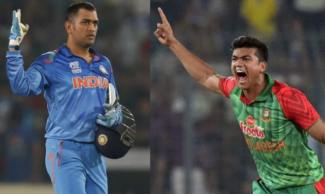 Image of Taskin Ahmed carrying MS Dhoni's severed head goes viral