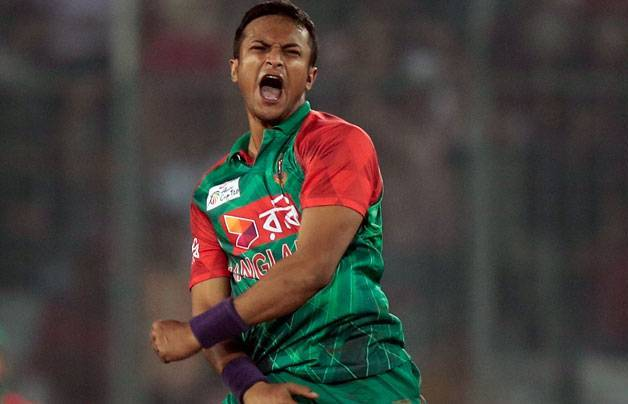 Shakib Al Hasan sustains thigh muscle injury
