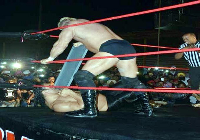 The Great Khali Takes his Revenge in Style