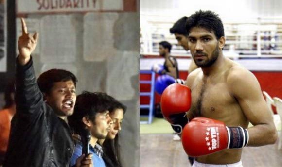 Arjuna award-winning boxer Manoj Kumar blasts Kanhaiya Kumar in Facebook post