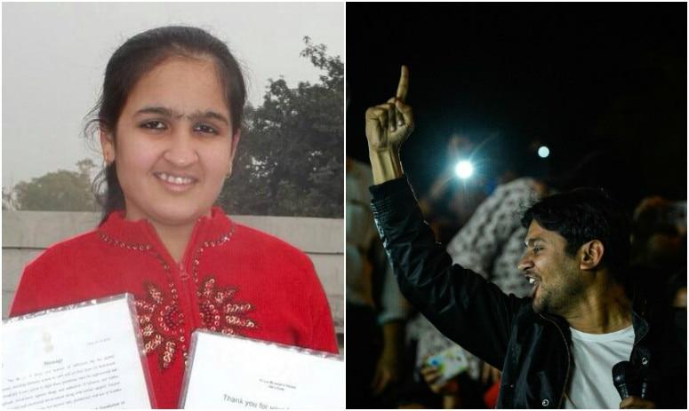 15-year-old Jhanvi Behal challenges Kanhaiya Kumar for open debate