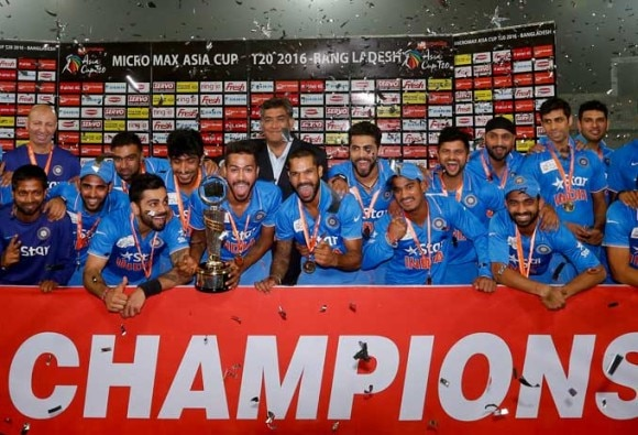 Asia Cup: India beat Bangladesh by 8 wickets to win 6th title
