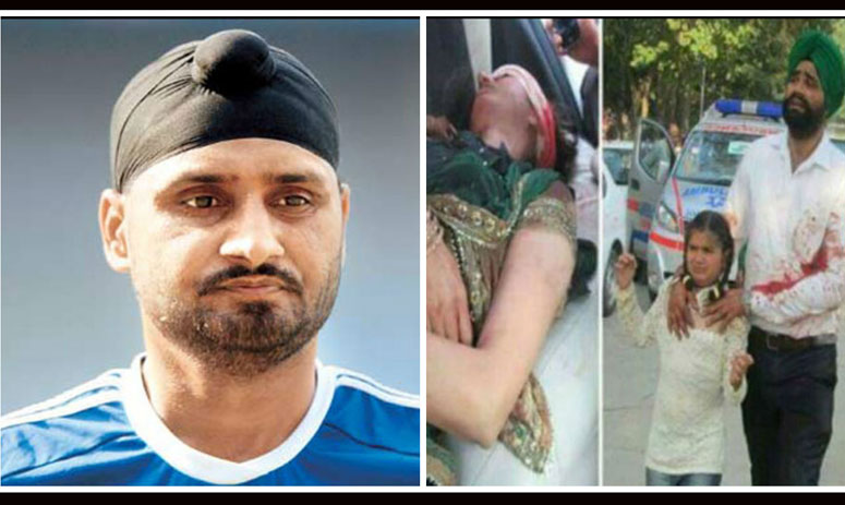 harbhajan singh gets angry on the people who gets drunk and fire in marriages