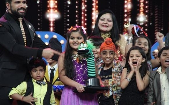 India's Best Dramebaaz: Swasti Nitya wins the show!