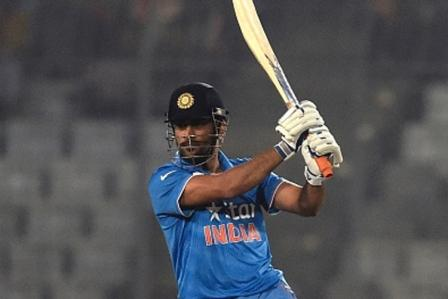 dhoni says we are on track for world t20