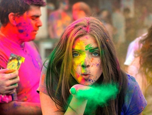 natural skin and hair care tips for Holi