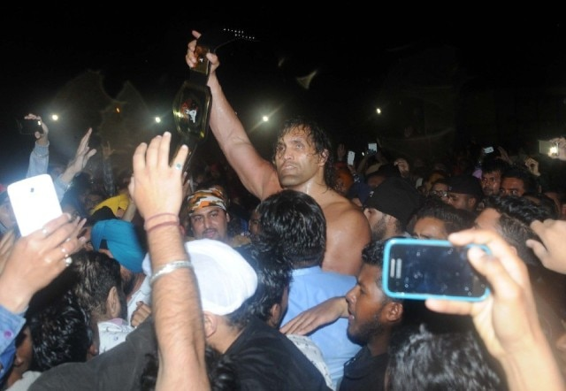 case registered against The Great Khali