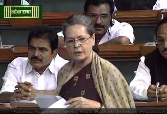 Sonia Gandhi pitches for 33 per cent quota in Parliament On Women's Day