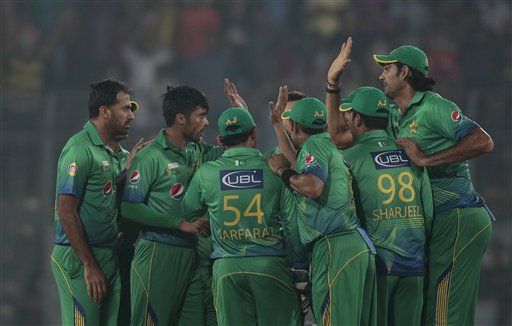 Pak team's departure to India for World T20 put on hold