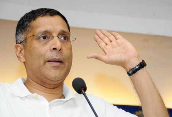 Don't want to lose my job by speaking on beef ban: Arvind Subramanian