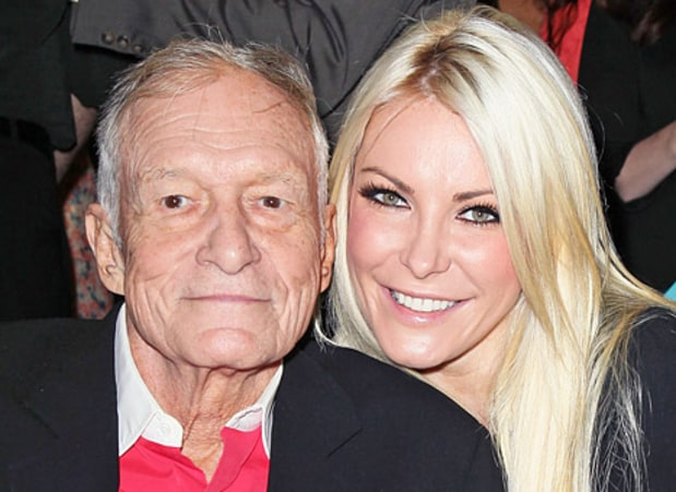 Hugh Hefner's wife reveals Lyme disease diagnosis and urges fans to get tested